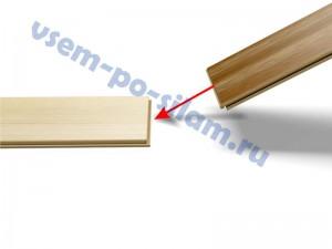 соединение панелей ламината